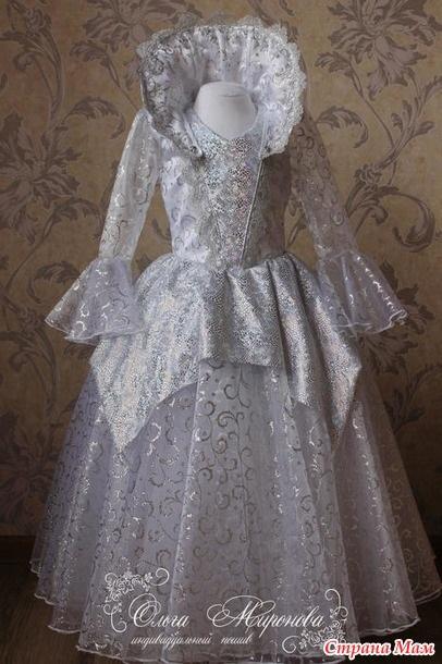 Фото костюма снежной королевы своими руками 008