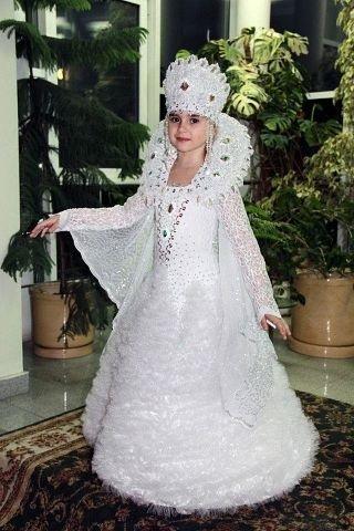 Фото костюма снежной королевы своими руками 009