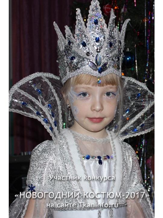 Фото костюма снежной королевы своими руками 011