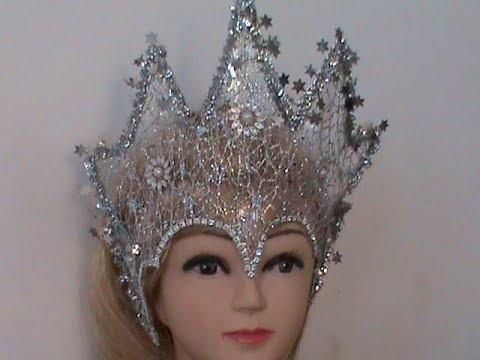 Фото костюма снежной королевы своими руками 012