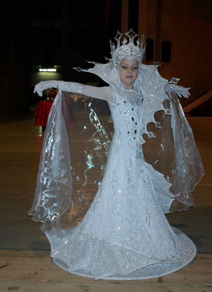 Фото костюма снежной королевы своими руками 013