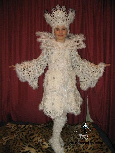 Фото костюма снежной королевы своими руками 014