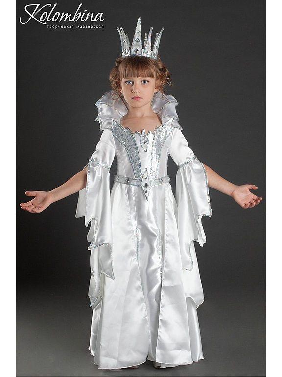 Фото костюма снежной королевы своими руками 016
