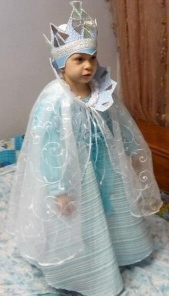 Фото костюма снежной королевы своими руками 017