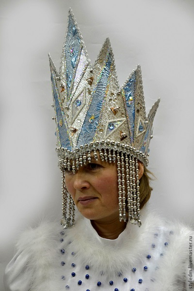 Фото костюма снежной королевы своими руками 018