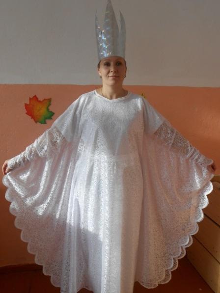 Фото костюма снежной королевы своими руками 019