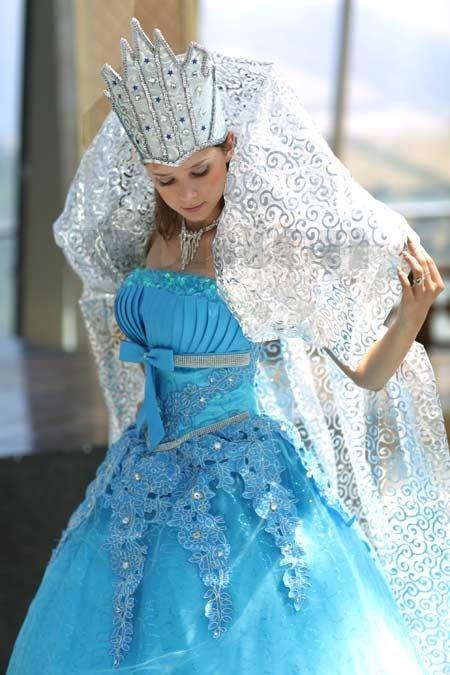 Фото костюма снежной королевы своими руками 020
