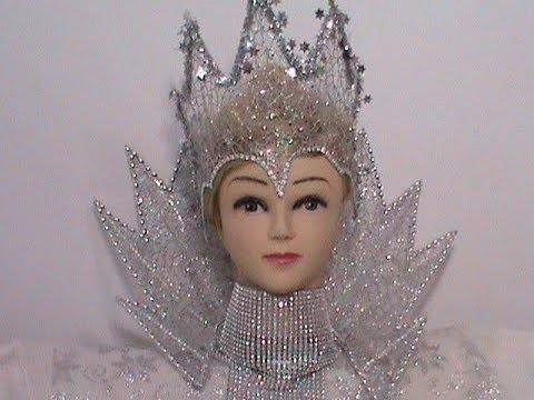 Фото костюма снежной королевы своими руками 024