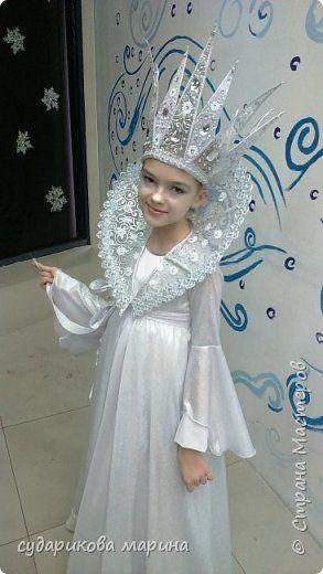 Фото костюма снежной королевы своими руками 025