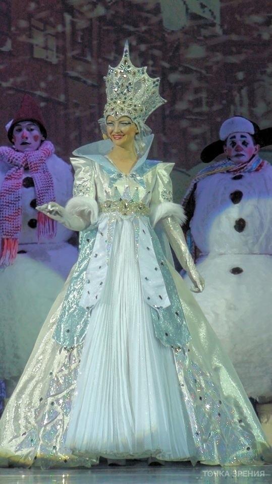 Фото костюма снежной королевы своими руками 026