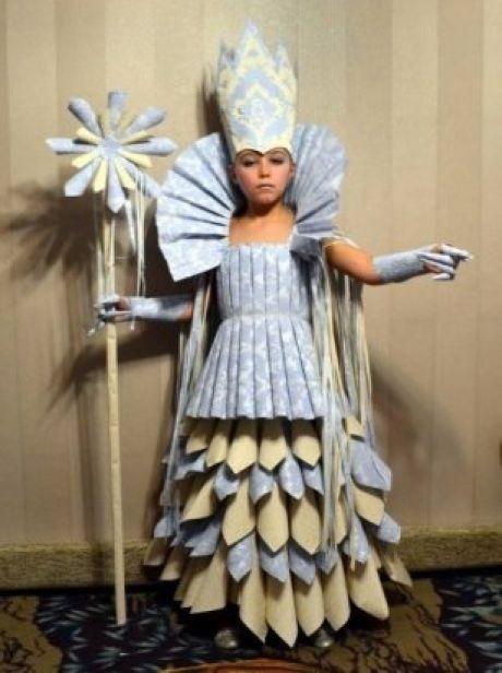 Фото костюма снежной королевы своими руками 027
