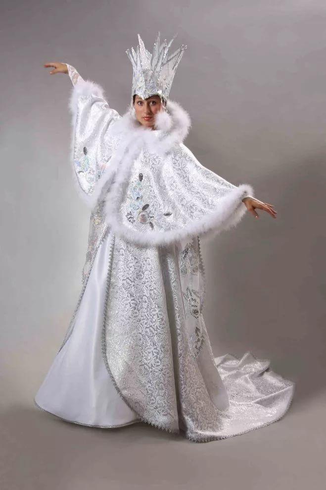 Фото костюма снежной королевы своими руками 028