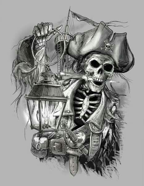 Черно белый рисунок кораблика 025