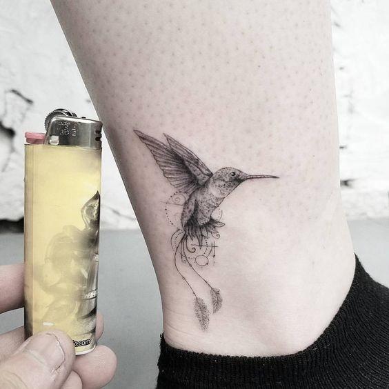 Эскизы тату маленькие птицы 001