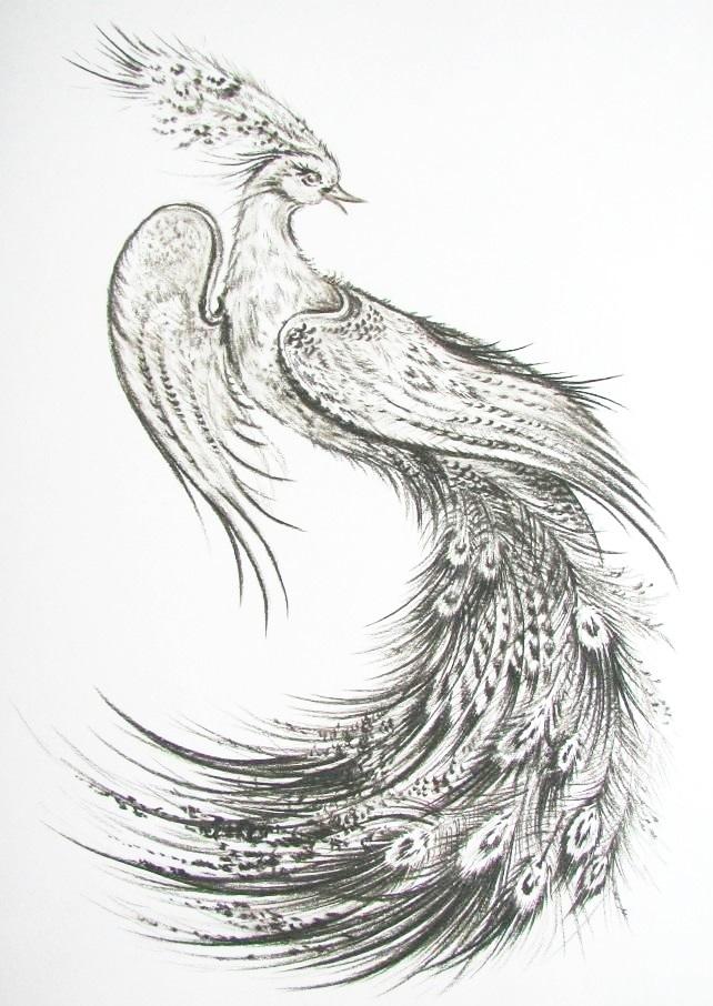 Эскизы тату маленькие птицы 008