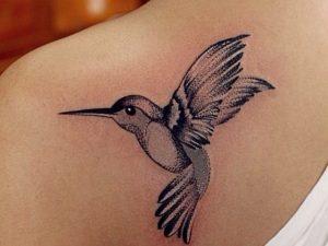 Эскизы тату маленькие птицы 028