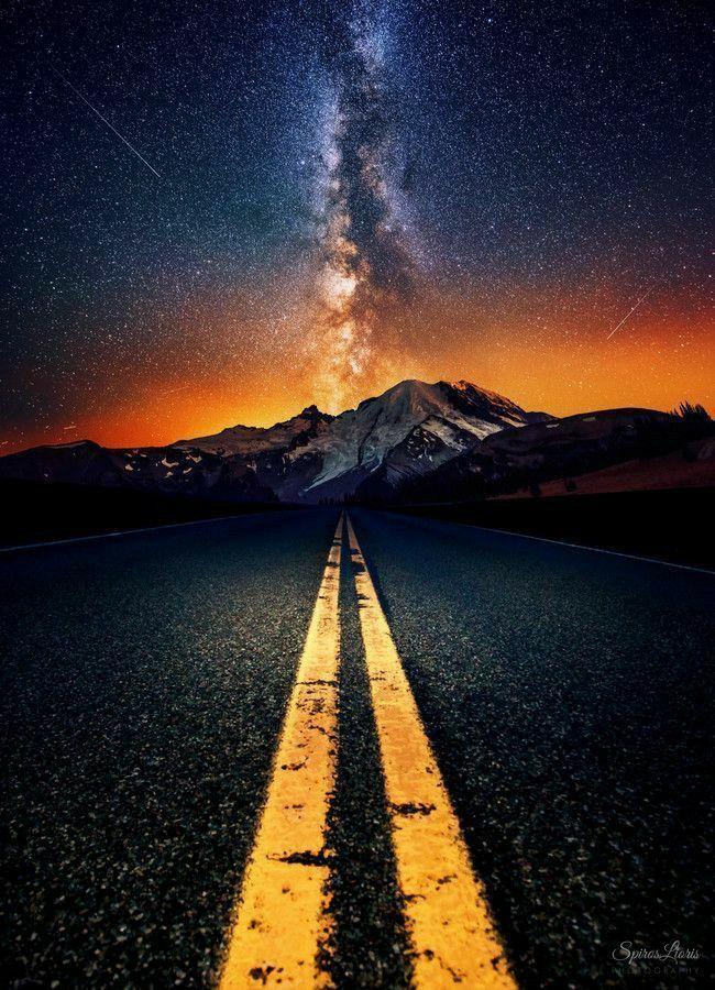 Звездное небо обои на айфон 6 002
