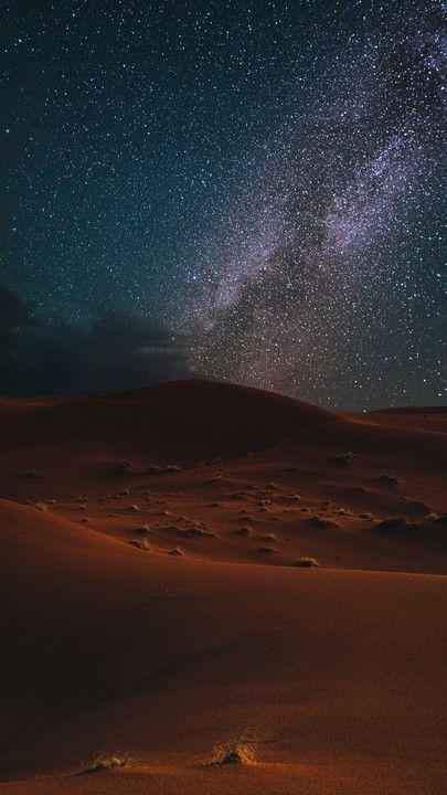 Звездное небо обои на айфон 6 005