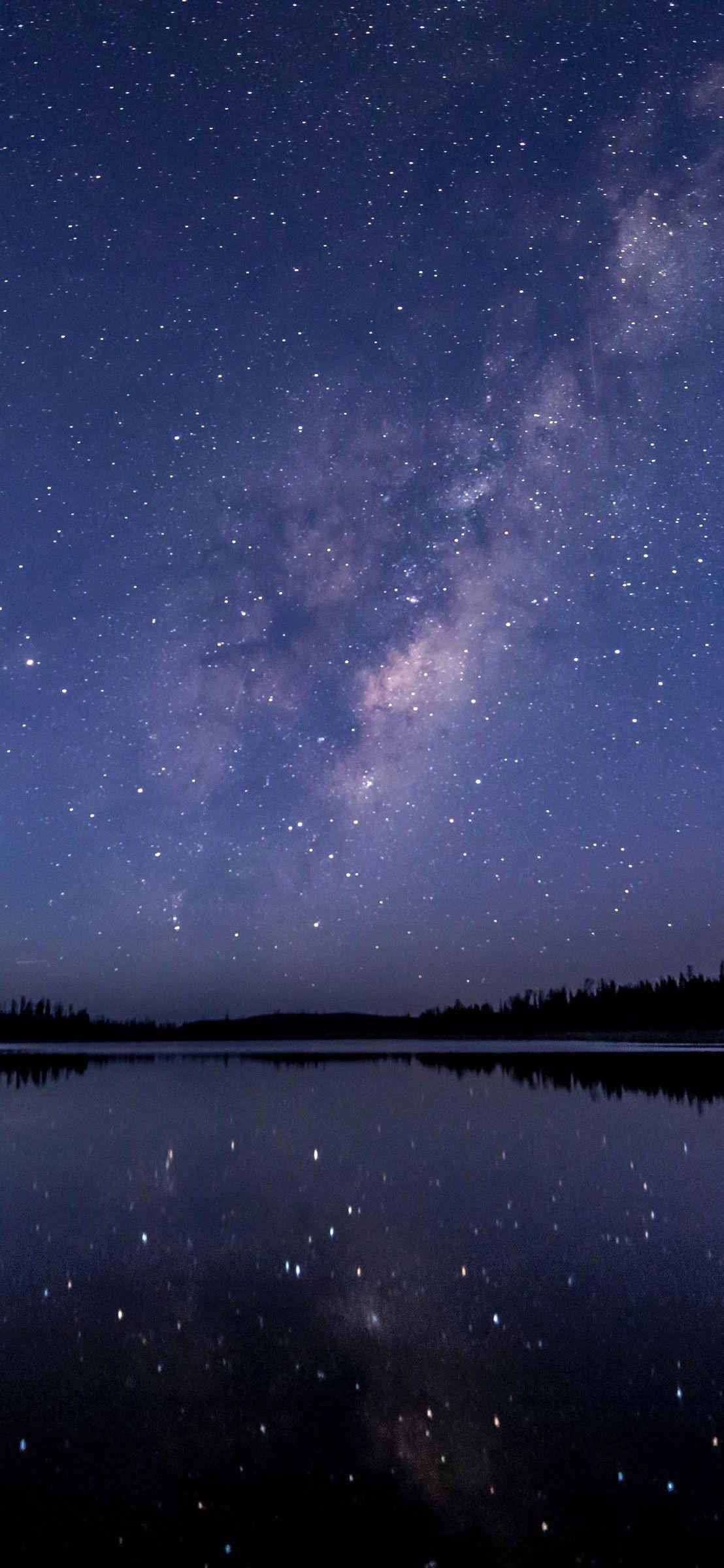 Звездное небо обои на айфон 6 008