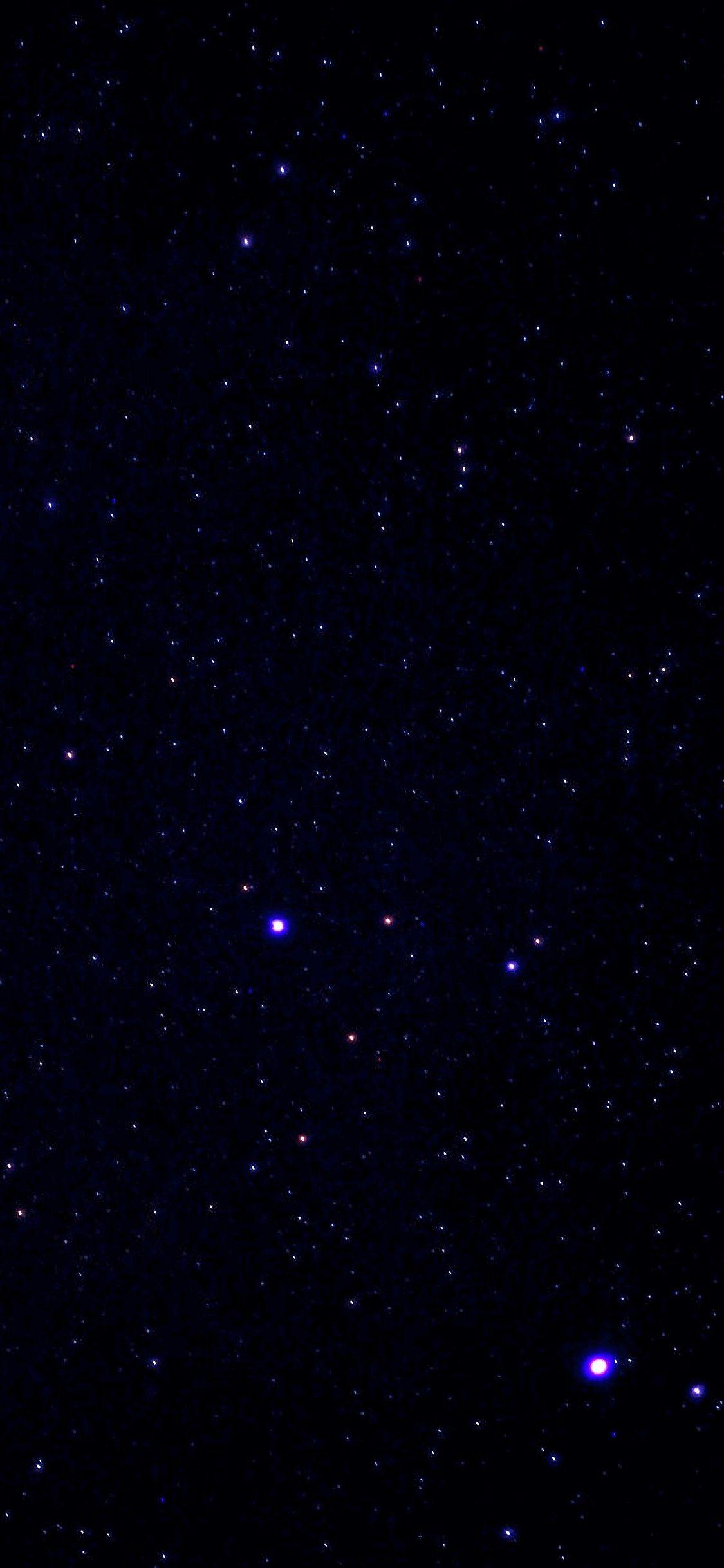 Звездное небо обои на айфон 6 009