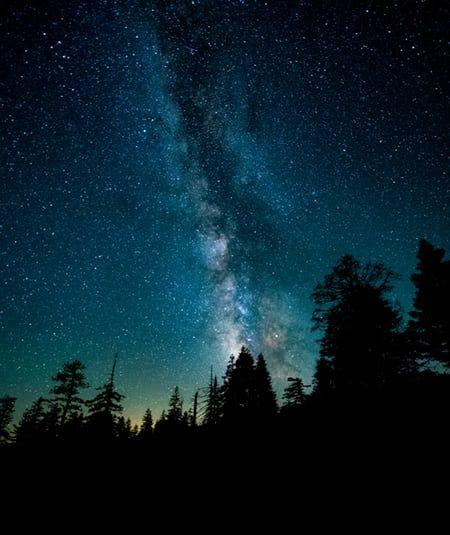 Звездное небо обои на айфон 6 017
