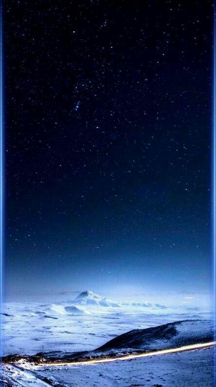 Звездное небо обои на айфон 6 018