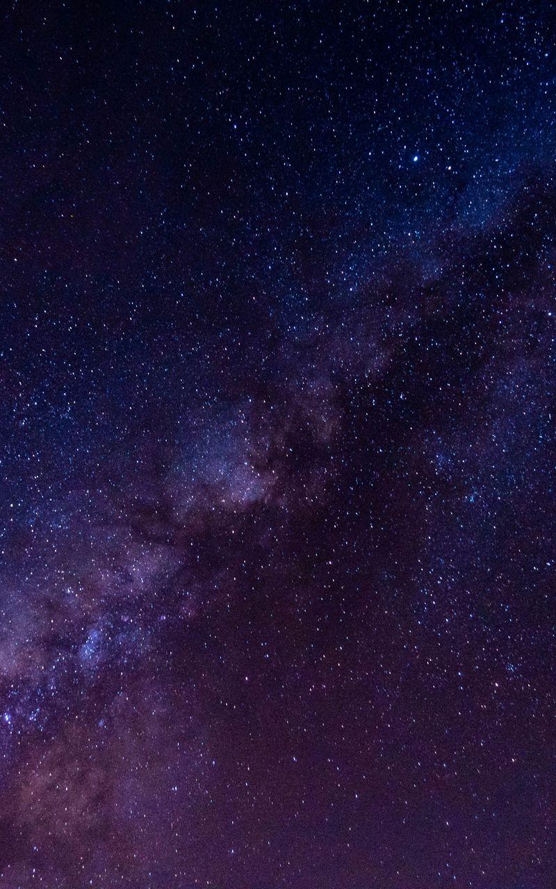 Звездное небо обои на айфон 6 020