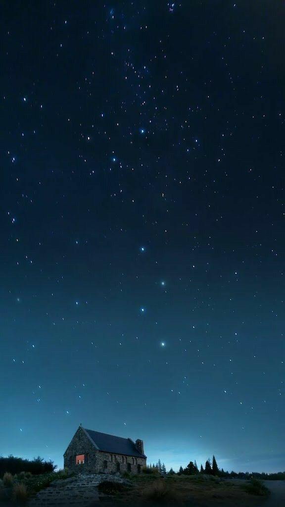 Звездное небо обои на айфон 6 021