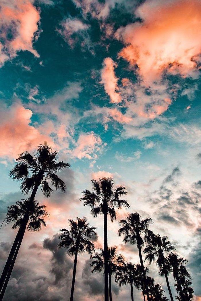 Красивые обои неба на айфон 010
