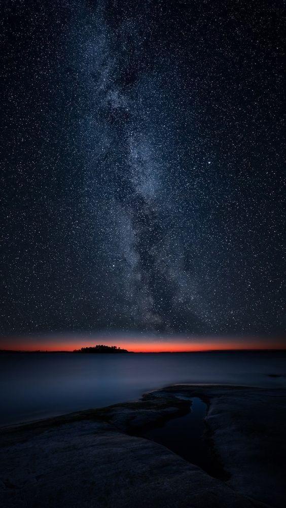 Красивые обои неба на айфон 011