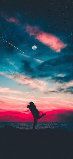 Красивые обои неба на айфон 014