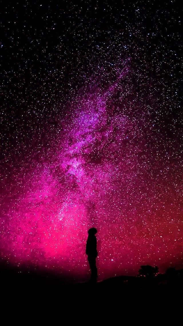 Красивые обои неба на айфон 015