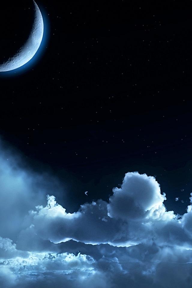 Красивые обои неба на айфон 020