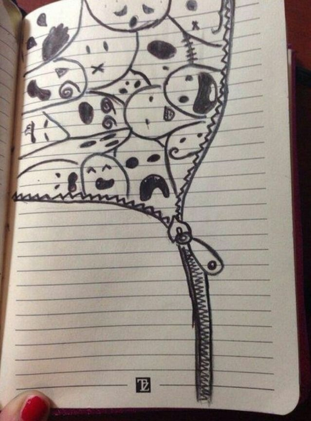 Рисунки для дневника 006