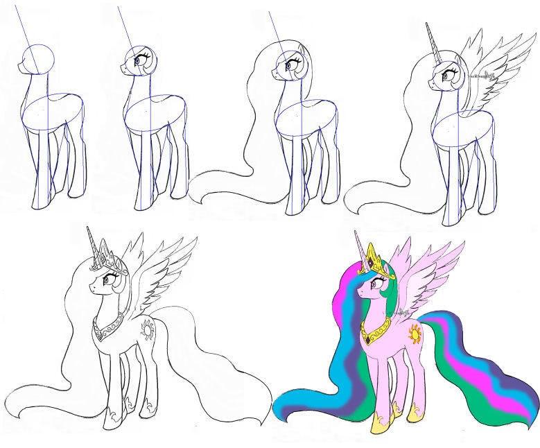 легкие рисунки карандашом для детей 8 лет 011