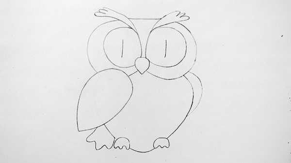 легкие рисунки карандашом для детей 8 лет 021