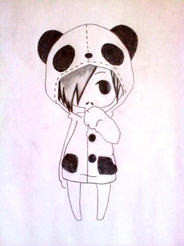 легкие рисунки карандашом для детей 8 лет 025