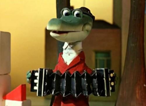 Красивые картинки крокодил Гена и Чебурашка 014