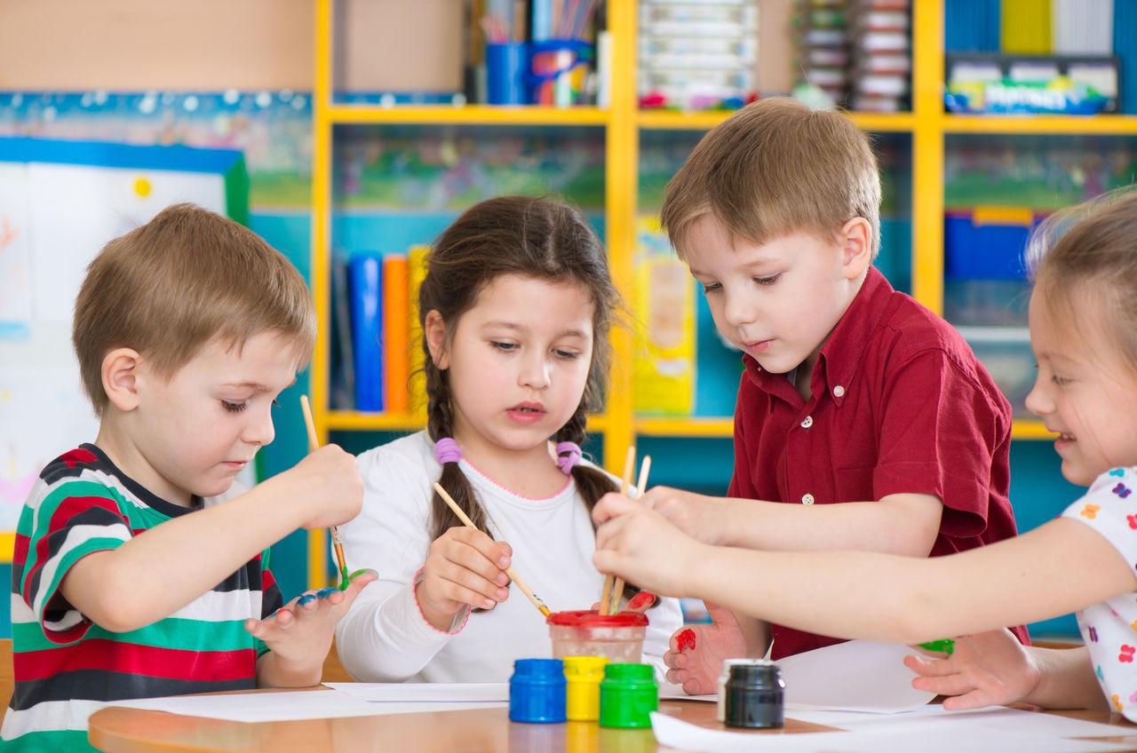 Милые фото детей в детском саду 007