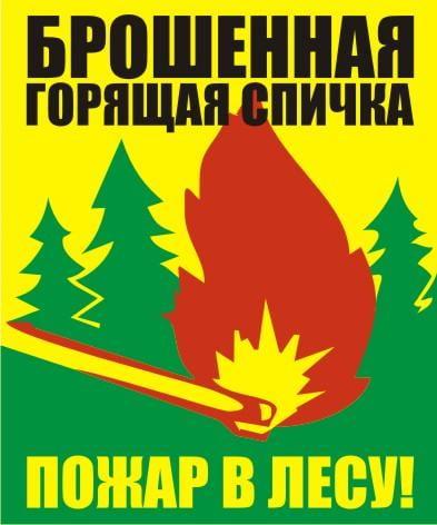Поучительные картинки берегите лес от пожара 019