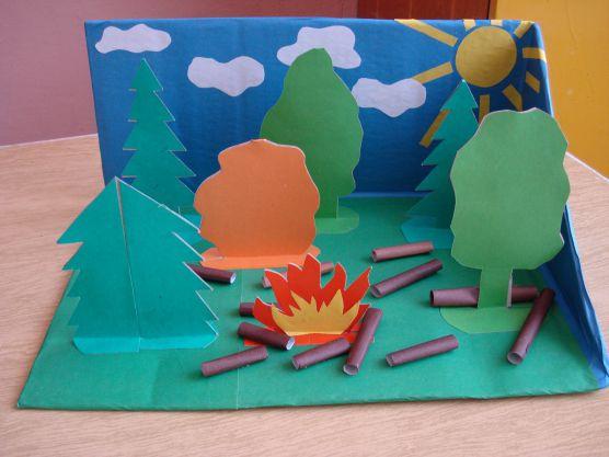 Поучительные картинки берегите лес от пожара 020