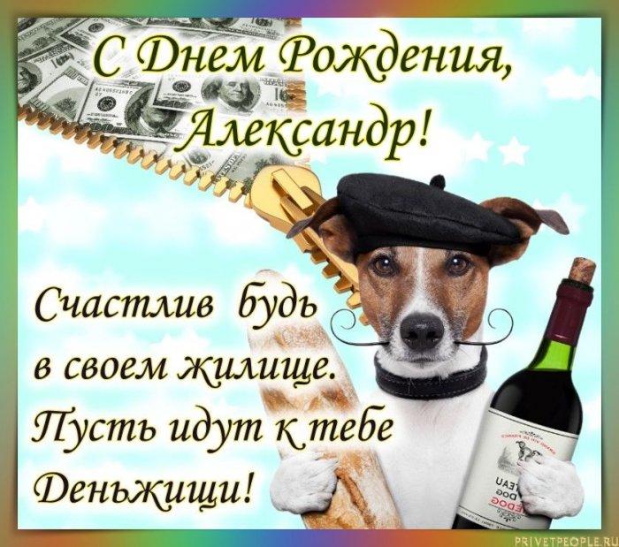Прикольные картинки для Александра с днем рождения 011
