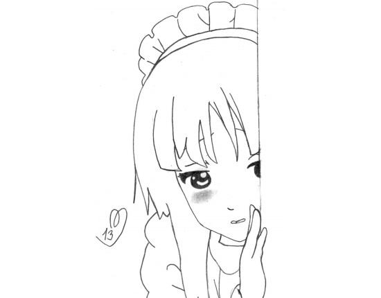 Картинки легкие рисунки для начинающх 016
