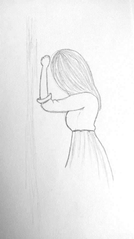 Рисунки карандашом для срисовки легко и красиво 001