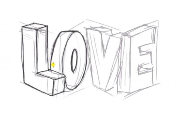 Рисунки карандашом для срисовки легко и красиво 010