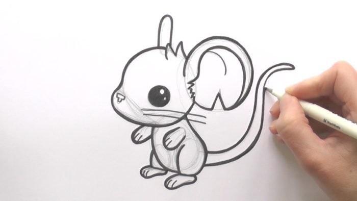 Рисунки карандашом для срисовки легко и красиво 011