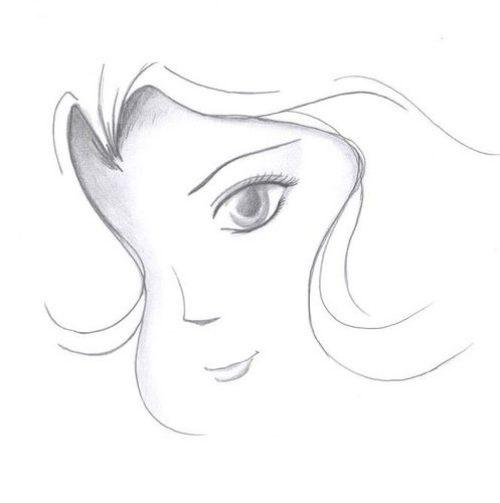 Рисунки карандашом для срисовки легко и красиво 015