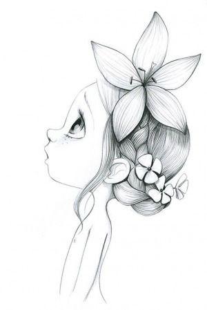 Рисунки карандашом для срисовки легко и красиво 020
