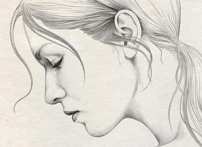 Рисунки карандашом для срисовки легко и красиво 022