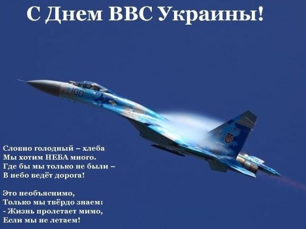 День авиации Украины поздравления в открытках 01